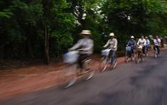 Cambodia - Bikers (chrisbastian44) Tags: trip tourism asian ancient asia cambodia southeastasia vietnam oriental orient hanoi siemreap angkor