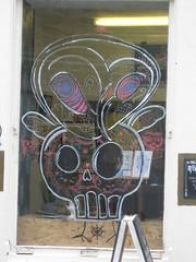 Ox Head (miketransreal) Tags: art alan gallery little neil row ox campbell grassmarket candlemaker slorance