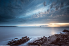 On the Rocks [Explored 21/09/2013] (~g@ry~ (clevedon-clarks)) Tags: longexposure sunset sky coast nikon rocks somerset coastal le westonsupermare northsomerset garyclark nikond800 nikkorafs1635mmf4gedvr