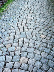 cobblestone pattern (kenjet) Tags: stone germany deutschland pattern path stones walkway pathway radiating
