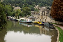 Kennet and Avon Locks, Bath DSCF4304 1024x683 (troy david johnston) Tags: england river bath unitedkingdom lock somerset avon barge kennet greatbritian troydavidjohnston