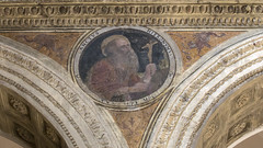 St Jerome (Lawrence OP) Tags: saint cross basilica medieval jerome fresco ravenna doctorofthechurch santapollinarenuovo