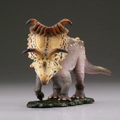 海洋堂 膠囊Q博物館 恐龍挖掘記 三角龍