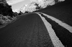 On the Road (HikerDude24) Tags: road park utah nationalpark nikon paint national zion zionnationalpark d5100