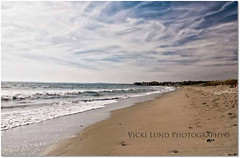 Parsons Beach Kennebunk , Maine (Vicki Lund Photography) Tags: ocean blue autumn summer vacation sky white fall beach nature water beautiful clouds reflections walking blessings coast landscapes nikon october raw seascapes view fineart maine newengland naturallight tourists atlantic kennebunkport northamerica kennebunk vacationland eastcoast mainecoast madeinamerica yorkcounty freelancephotographer followthelight 2013 parsonsbeach maineartist maineusa travelphotographer nikond90 mainenewengland newenglandfallfoliage mainephotographer fineartlandscape newenglandphotography vickilundphotography colorsnatural fineartseascapes wwwvickilundphotographycom httponfbmevickilundphotographywelcome mainegov vickilund greatmainevacations vickilundmaine madeinamericamade madeinmaine httpaboutmevickilundphotography