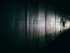 nightfall (miemo) Tags: street city autumn light reflection fall wall night finland dark evening helsinki europe shadows olympus voigtländer kruununhaka omd em5 voigtländernokton25mmf095 nightfall201310