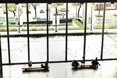 台北市立美術館大廳 (人生的風景) Tags: museum gallery snapshot taiwan lobby photowalk fujifilm streetphoto taipei 台北 x20 台北故事館 中山北路 窗外 街拍 圓山 台北市立美術館 落地窗 張照堂 snapseed uploaded:by=flickrmobile flickriosapp:filter=nofilter 照堂歲月