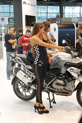 IMG_4836 (Brutale67589) Tags: girls woman milan sexy beauty bike promo candid babes eicma