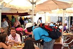 (...Away...) Tags: summer people woman man hot work spain restaurants childrens sanlucardebarrameda