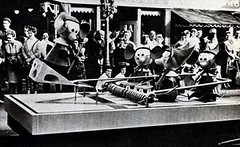 Toys on the March Parade - mousetrap float (Tom Simpson) Tags: vintage disneyland disney parade 1960s mousetrap 1961 disneyparade vintagedisneyland disneylandparade vintagedisney toysonthemarch