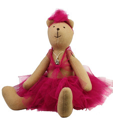 Mi baletnica przytulanka - MILLKA - DaWanda.pl - 46z (DaWanda Polska) Tags: kids toys dzieci zabawki mi zabawka przytulanka dawanda millka