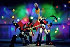 Merry Christmas 2013 (Fstop Mathai) Tags: toys actionfigure japanese gonagai grendizer mazinger mazinkaiser