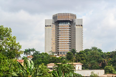 Yaoundé, Cameroon (jbdodane) Tags: africa alamy150820 bank bankofcentralafricanstates banquedesetatsdelafriquecentrale bicycle building buildings cameroon cameroun cemac city citycenter cycletouring cycling cyclotourisme money velo yaounde freewheelycom alamy jbcyclingafrica