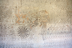 Angkor Wat bas relief (Andrea Schaffer) Tags: cambodge cambodia january angkorwat siemreap basrelief 2014 kampuchea canonefs1755mmf28isusm canon450d ព្រះរាជាណាចក្រកម្ពុជា preăhréachéanachâkkâmpŭchéa