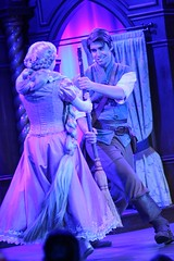 The Tales of Tangled (jodykatin) Tags: disneyland rapunzel storytelling tangled facecharacter theroyaltheatre flynnrider