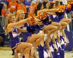 Gator Cheerleaders (dbadair) Tags: basketball ut university florida tennessee volunteers gators sec uf odome vols 2014