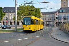 MVG 297 [Mulheim tram] (Howard_Pulling) Tags: germany deutschland tram august german nrw trams strassenbahn muelheim mvg 2013 mulheim howardpulling