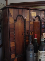 "ITALIAN PARQUETRY WALL CABINET, AS-IS. • <a style=""font-size:0.8em;"" href=""http://www.flickr.com/photos/51721355@N02/12525766684/"" target=""_blank"">View on Flickr</a>"