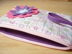 Pretty Funky Wristlet Type F (erinrizz) Tags: handmade sewing craft wristlet