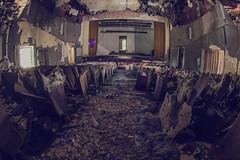 The Last Show (.Ell) Tags: urban abandoned canon hospital teatro photography insane theatre decay baloon fisheye asylum manicomio urbex palloncino ospedale abbandono
