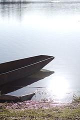 Lago di Posta Fibreno - Old Boat (The.Dark.Passenger.) Tags: old sunlight lake water reflections lago boat barca dof bokeh acqua riflessi posta vecchia fibreno 50ino