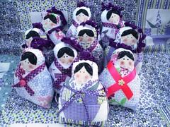 Matrioskinhas (GarotaECO Atelie) Tags: boneca tilda matrioska chaveiro