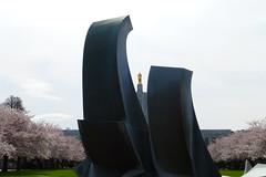 Sculpture (Monquee) Tags: park oregon state capitol salem oregonstateparks
