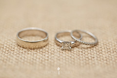 Our Wedding Rings (Serena178) Tags: wedding love diamonds three shiny soft jewellery rings odc whitegold threeofakind