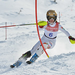 Szonja HOZMANN of Hungary takes 4th Place in the U14 Girls Slalom Race held on Whistler Mountain on April 6th, 2014. Photo by Scott Brammer - coastphoto.com