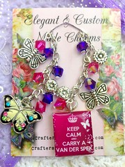 (CraftersRetreat.Etsy.com) Tags: notebook charm planner filofax charmss