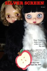 Blythe-a-Day May, 2014: Day 7, Apple: LaVern and Angel in The Big Apple