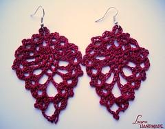 Rita earrings (Laura Mel) Tags: handmade crochet jewelry bijoux accessories earrings accessori orecchini uncinetto fattoamano bigiotteria