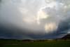 Cortina de precipitació i virgues (Xavi Mestres Farré) Tags: catalunya meteo lleida meteorologia arcdesantmartí cortinesdeprecipitació fenòmensatmosfèrics