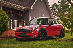 Mini (Proleshi) Tags: red car 50mm automobile mini machinery cooper vehicle sporty josephs jamal d300s proleshi