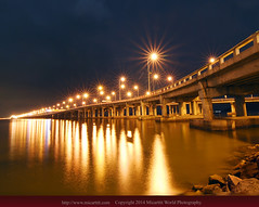 Penang Bridge (Micartttt) Tags: bridge georgetown malaysia penang penangbridge d80 micarttttworldphotographyawards micartttt capturethefinest
