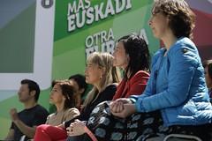 Durangoko mitinean (EAJ-PNV) Tags: ana europa country bilbao bizkaia basque durango euskalherria euskadi basquecountry paisvasco pnv euzkadi izaskun eajpnv eaj partidonacionalistavasco euzkoalderdijeltzalea barandica otadui basquenacionalistparty