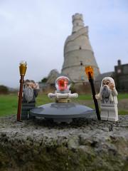 25 / 365 (Janek Kloss) Tags: ireland tower barn wonderful lego outdoor lord rings gandalf figures saruman kildare leixlip minifigures isengard