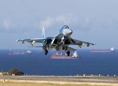 SU-27UB 74 CLOFTING IMG_1641+FL (Chris Lofting) Tags: 74 crimea sukhoi su27 flanker su27ub ukrainianairforce belbek 74blue