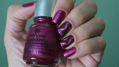 Desafio China Glaze - Magntico (Roberta_Rezende) Tags: magenta rosa claires magntico holo chinaglaze hologlam posh desafiochinaglaze