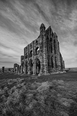 Whitby Abbey (Mike Fellows) Tags: bw abbey mono moody pentax 10 yorkshire gothic north sigma stop whitby nik 1020 k3 efex