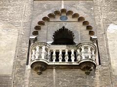 Balcón en la Giralda. (Miguelángel) Tags: sevilla giralda balcón