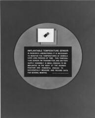 "NASA_Implantable temperature sensor_1969 <a style=""margin-left:10px; font-size:0.8em;"" href=""http://www.flickr.com/photos/130192077@N04/16556764955/"" target=""_blank"">@flickr</a>"