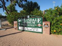 Street Sign for Scottsdale Stadium -- Scottsdale, AZ, March 08, 2016 (baseballoogie) Tags: arizona baseball stadium az giants scottsdale ballpark springtraining sanfranciscogiants cactusleague baseballpark scottsdalestadium 030816 canonpowershotsx30is baseball16