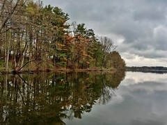 Horn Pond ((Jessica)) Tags: trees reflection nature water boston massachusetts newengland pw woburn hornpond