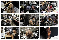 10th Athens Tattoo Convention. 14th May, 2016. Greece (aggelikikoronaiou) Tags: people urban colour art festival tattoo tattooconvention artist body snapshot indoor athens piercing bodypaint greece bodypainting salvadordali society clinteastwood socialdocumentary
