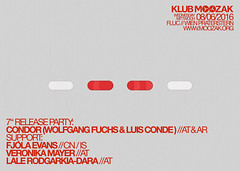 KLUB MOOZAK #84 poster (klubmoozak) Tags: vienna wien experimental live vinyl releaseparty 7inch experimentell fluc klubmoozak