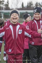 1604_FOOTBALL-118 (JP Korpi-Vartiainen) Tags: game girl sport finland football spring soccer hobby teenager april kuopio peli kevt jalkapallo tytt urheilu huhtikuu nuoret harjoitus pelata juniori nuori teini nuoriso pohjoissavo jalkapalloilija nappulajalkapalloilija younghararstus