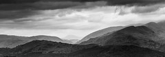 The Fells (asheers) Tags: sky mountain monochrome clouds landscape mono moody lakedistrict fells fell recession silverefex