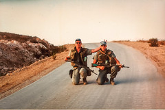 Patrolling Highway 68 (Normann Photography) Tags: lebanon unitednations 1992 peacecorps peacekeepers highway68 unifil unitednationsinterimforceinlebanon pv68 fntjeneste unservice kontigent29