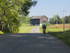 Early morning... (tbower) Tags: ohio bicycle rural nikon raw country coolpix nrw p330 starkcountybicycleclub